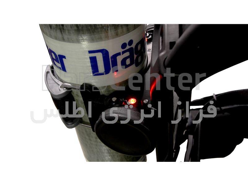 دستگاه تنفسی فرار 45 دقیقه ای دراگر pss7000 با سیلندر کامپوزیت
