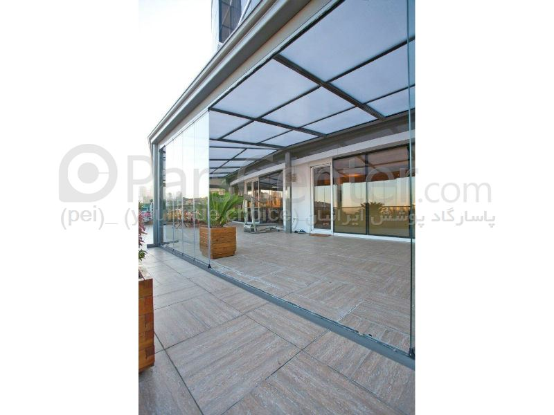 سیتم پوشش بالکن و تراس متحرک Balcony and terrace 94
