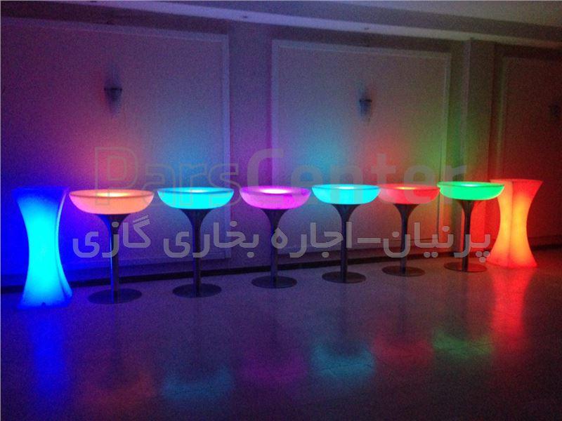 اجاره میز LED