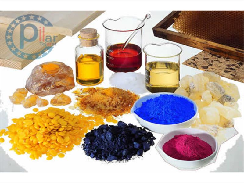 Paint and resin Raw materials