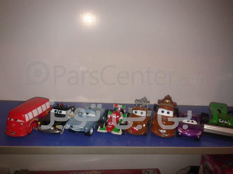 سری کامل  ماشین های عقب کش فلزی کارتون cars(مک کویین)