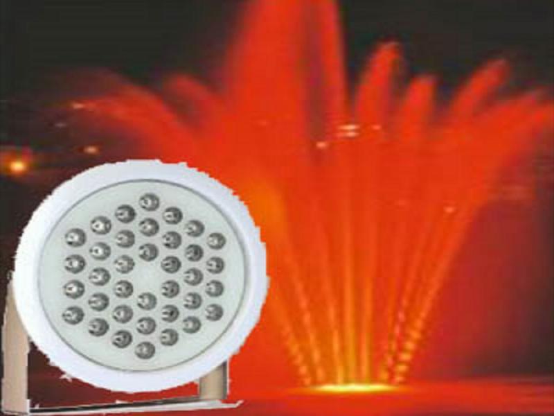 پروژکتور پایه دار ضد آب ۳۶ وات RGB