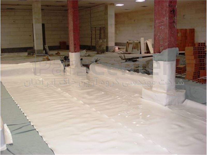 آب بندی نقاط بحرانی گودهای ساختمانی با ورق PVC، سه راه یاسر