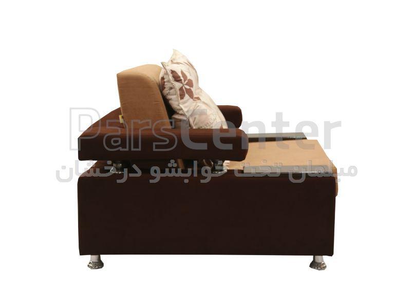 مبل تخت خوابشو یکنفره لالوسکی