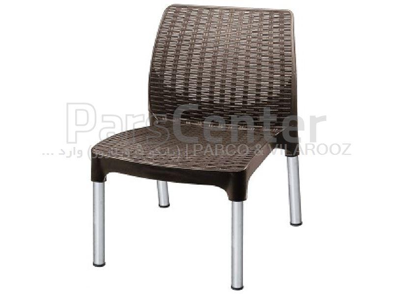 صندلی استخری پلاستیکی حصیری کومودور