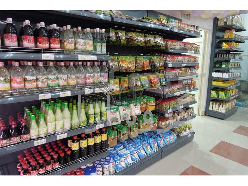 تجهیز فروشگاه زنجیره ای حامی شعبه قائمشهر- دکوراسیون فروشگاهی، قفسه فروشگاهی