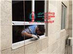 پنجره دوجداره upvc ویستابست لبه دار  مخصوص بازسازی پنجره