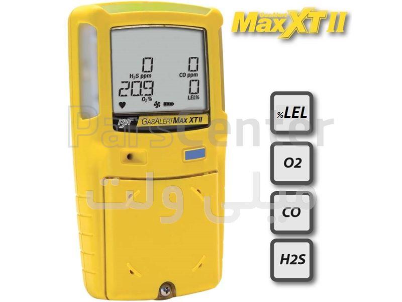 دتکتور ۴ گازGAS ALERT MAX XT II