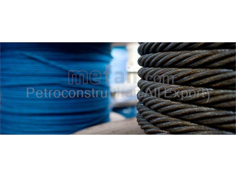 PP covered wire rope