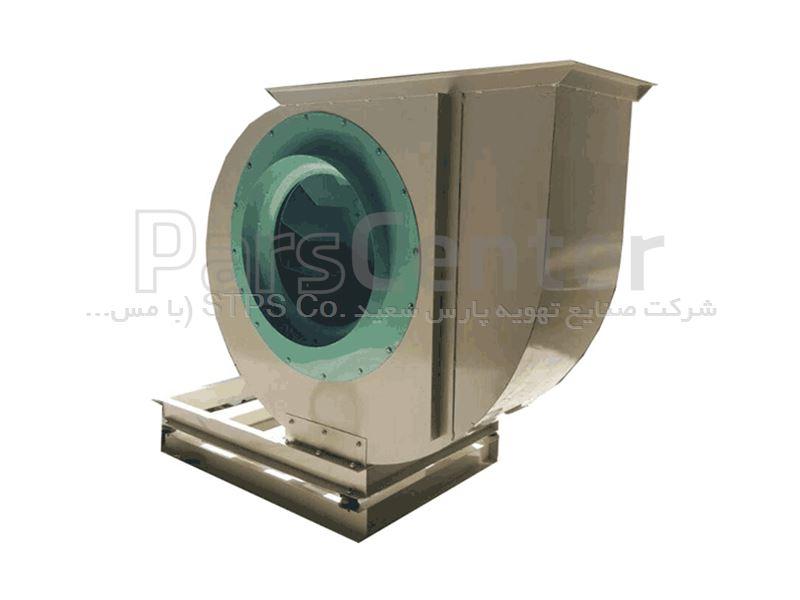 فن سانتریفیوژ بکوارد کوبله مستقیم تک ورودی