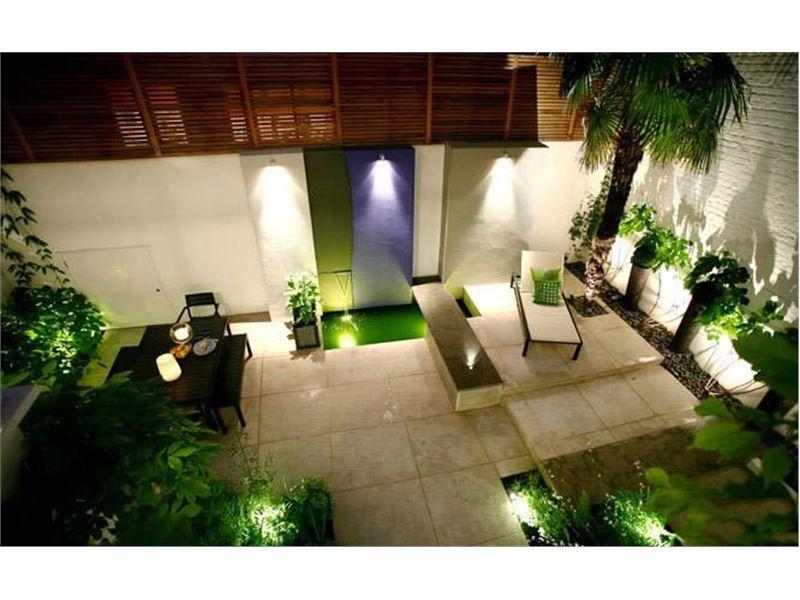 طراحی حیاط خلوت زیبا و با صفا