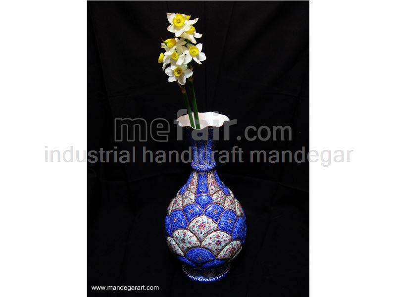Enamel Vase 25 cm