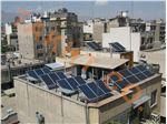 سازه نصب پنل خورشیدی ثابت