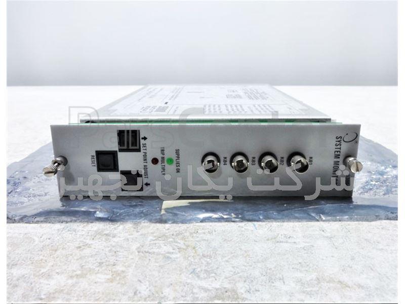 فروش و تامین کارت مانیتور بنتلی نوادا 3300/03 Bently Nevada System Monitor