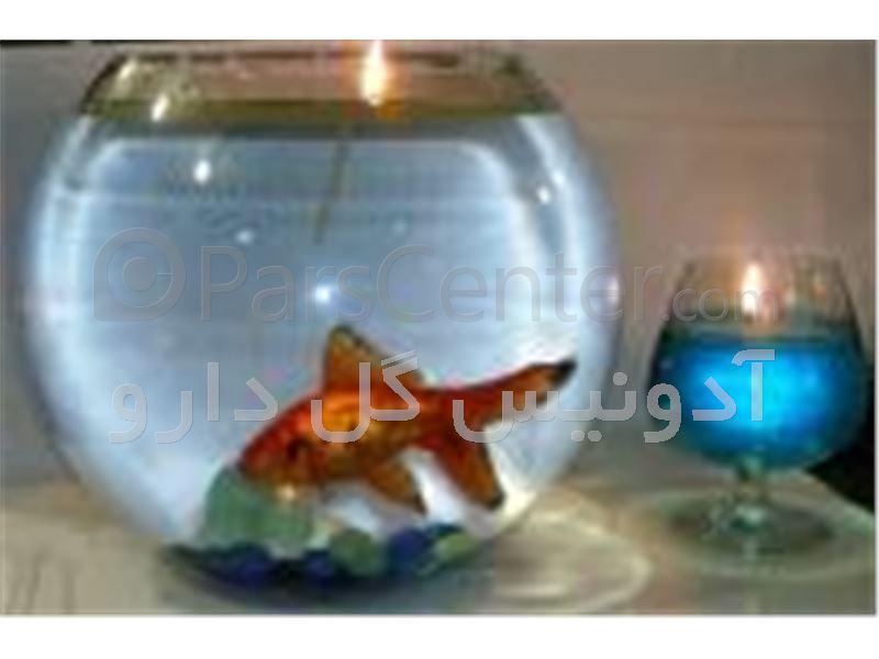شمع رویایی روی آب با اسانس سوختنی