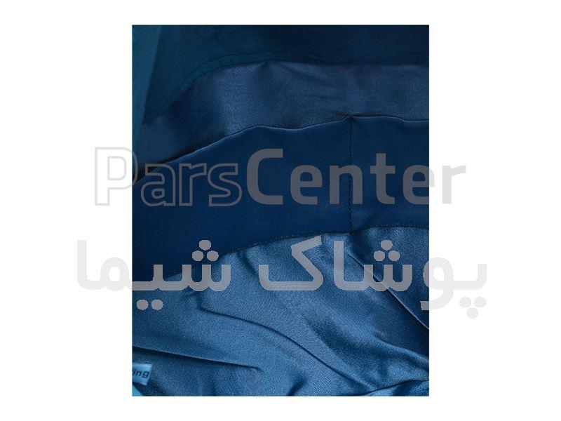 کیف پارچه ای طرح ترنج سرمه ای پوشاک شیما