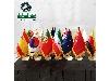 پرچم رومیزی (زمینه رنگی)