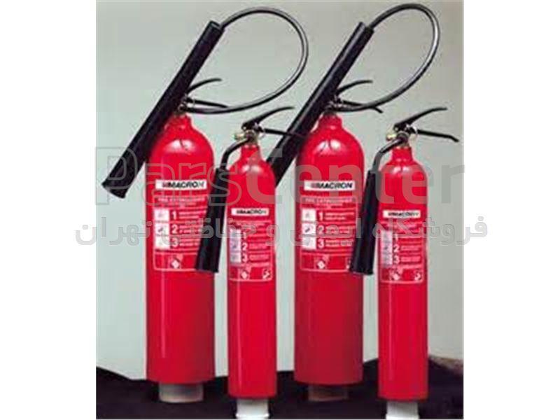 کپسولهای آتش نشانی پودر و گاز و گازی