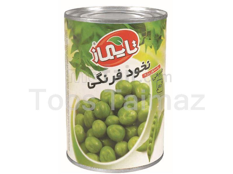 Taimaz Canned Green Peas