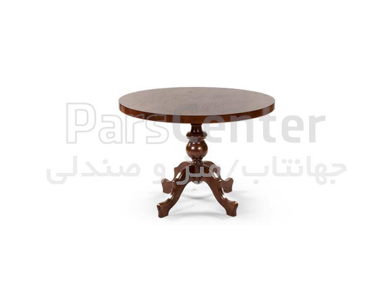 میز چوبی رستورانی مدل W74 (جهانتاب)