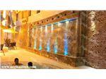 طراحی و اجرای آب نما دیواری پرده ای